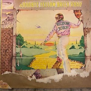 Elton John Goodbye Yellow Brick